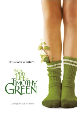 poster from the Disney film the Odd Life of Timothy Green