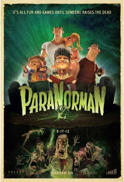 poster from the Laika Entertainment film Paranorman