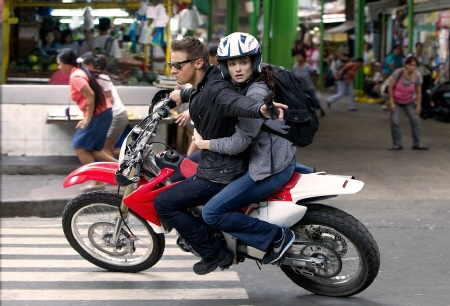 motorcycle chase from the Universal Pictures film The Bourne Legacy