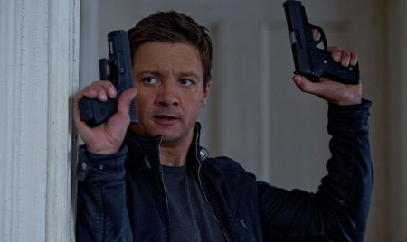 Jeremy Renner as Aaron Cross from the Universal Pictures film The Bourne Legacy