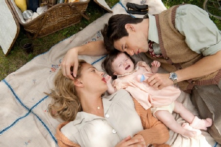 Ben Barnes has a baby from the CBS films movie The Words