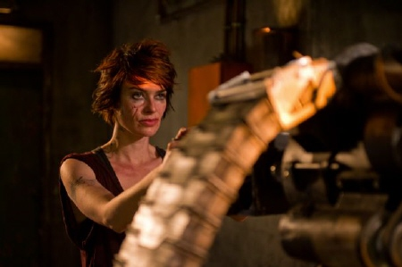 Lena Headey as Mama from the DNA Pictures film Dredd