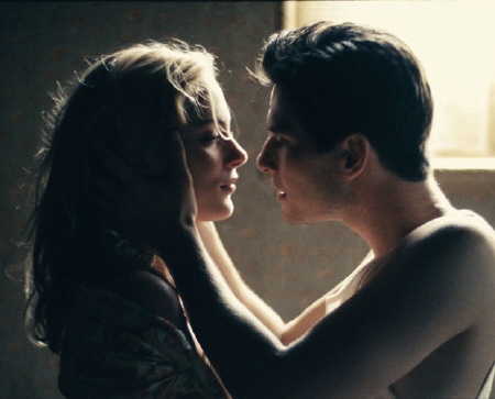 Ben Barnes and Nora Arnezeder from the CBS films movie The Words