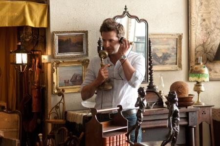 Rory uses an antique phone from the CBS films movie The Words