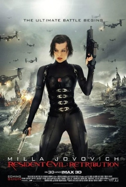 poster from the Constantin Pictures film Resident Evil Retribution