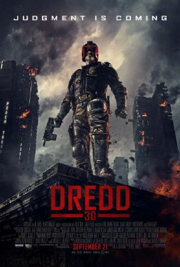 poster from the DNA Pictures film Dredd