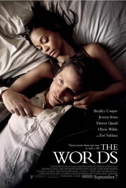 poster from the CBS films movie The Words