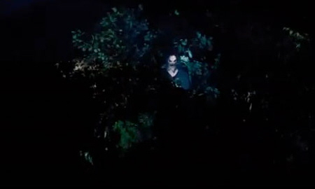Bughuul hiding in the bushes from the Summit Entertainment Film Sinister