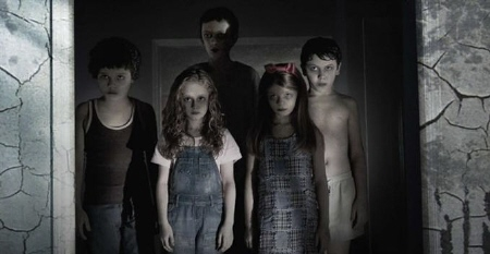 Creepy dead kids from the Summit Entertainment Film Sinister