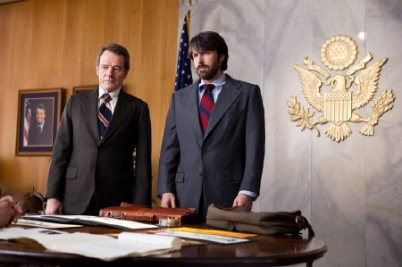 Ben Affleck and Bryan Cranston from the Warner Bros. Pictures film Argo