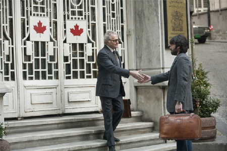 Tony meets Canadian ambassador Ken Taylor from the Warner Bros. Pictures film Argo