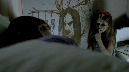 Ashley sees a creepy dead girl from the Summit Entertainment Film Sinister