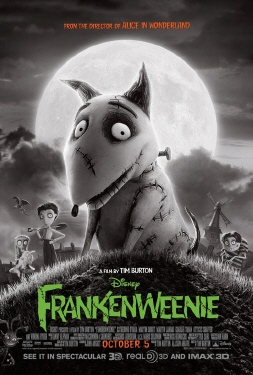 poster from the Walt Disney Pictures film Frankenweenie