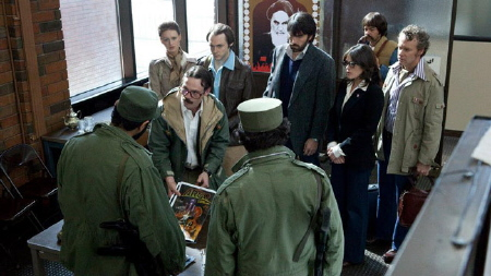 interrogated at the airport from the Warner Bros. Pictures film Argo