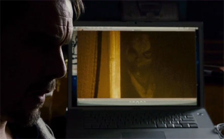 Bughuul on Ellisons computer screen from the Summit Entertainment Film Sinister
