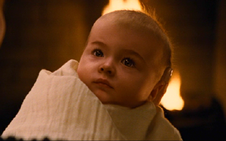 baby Rensemee from the Summit Entertainment film Twilight Breaking Dawn Part 2