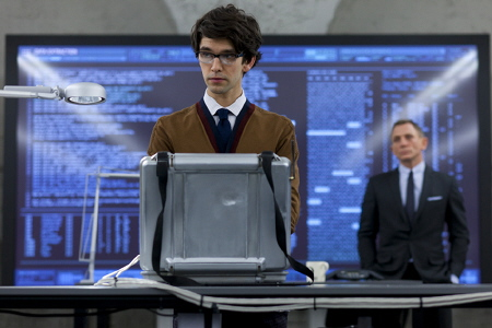 Ben Whishaw as the new Q from the MGM film Skyfall