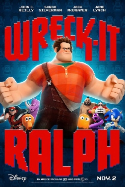 poster from the Walt Disney Animation Studios film Wreck it Ralph