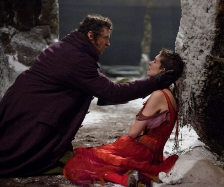 Jean Valjean finds Fantine from the Universal Pictures film Les Miserables