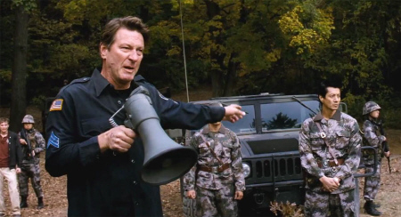 Brett Cullen and Will Yun Lee from the MGM film Red Dawn 2012