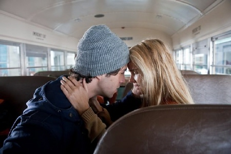 Josh Peck and Isabel Lucas from the MGM film Red Dawn 2012