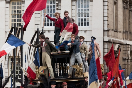 Student revolution from the Universal Pictures film Les Miserables