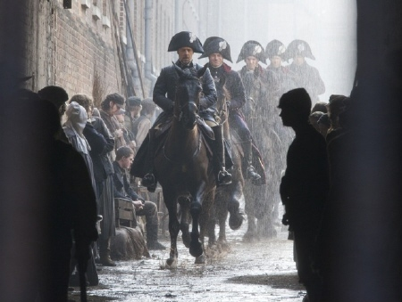 Javert and his cronies from the Universal Pictures film Les Miserables