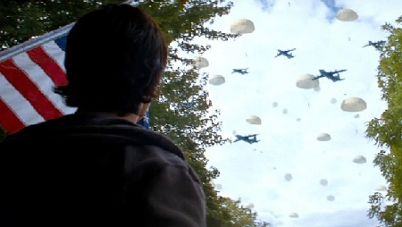 North Korean planes invade Spokane from the MGM film Red Dawn 2012
