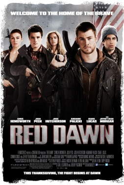 poster from the MGM film Red Dawn 2012