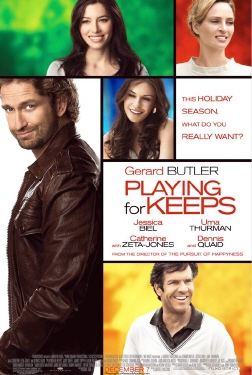 poster from the Millennium Films movie Playing for Keeps