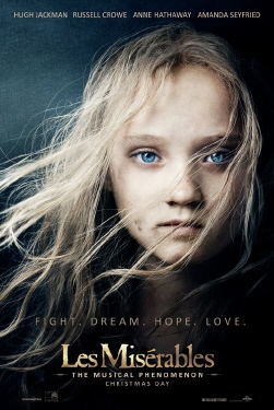 poster from the Universal Pictures film Les Miserables