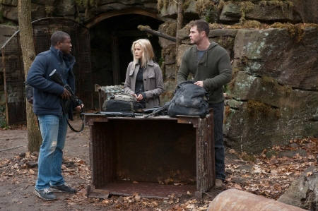 Edwin Hodge, Isabel Lucas, and Chris Hemsworth from the MGM film Red Dawn 2012