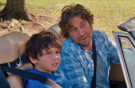 Gerard Butler and Noah Lomax from the Millennium Films movie Playing for Keeps