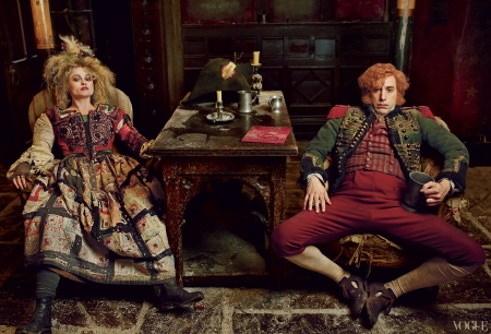 Thenardiers from the Universal Pictures film Les Miserables