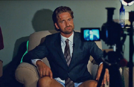 Gerard Butler auditions as a sports caster from the Millennium Films movie Playing for Keeps