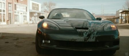 Corvette from the Di Bonaventure Films movie The Last Stand