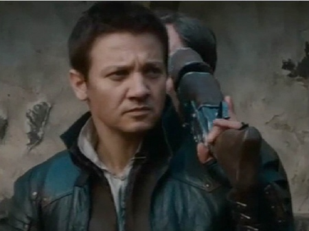 Jeremy Renner  from the Paramount Pictures film Hansel and Gretel Witch Hunters