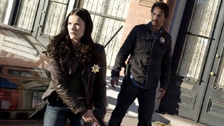 Sarah Torrance and Rodrigo Santoro from the Di Bonaventure Films movie The Last Stand