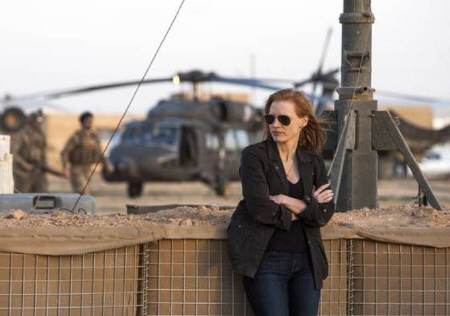 Jessica Chastain from the Annapurna Pictures film Zero Dark Thirty