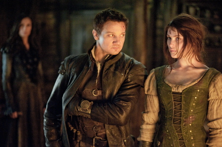 Jeremy Renner and Gemma Arterton  from the Paramount Pictures film Hansel and Gretel Witch Hunters
