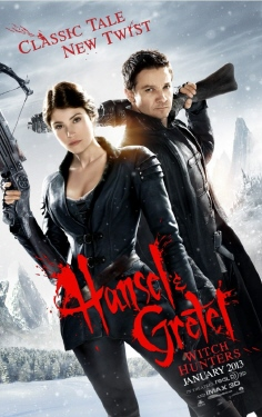 poster  from the Paramount Pictures film Hansel and Gretel Witch Hunters