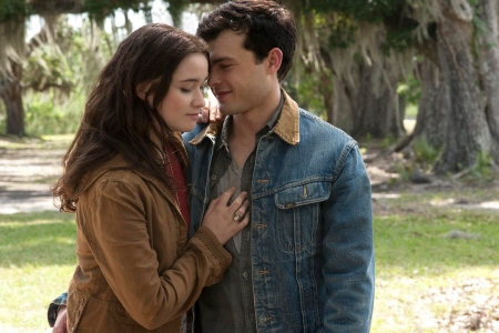 Lena and Ethan from the Warner Bros. Pictures film Beautiful Creatures