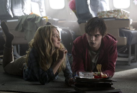 Julie and R hang out from the Summit Entertainment film Warm Bodies