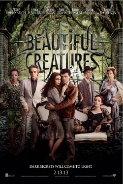 poster from the Warner Bros. Pictures film Beautiful Creatures