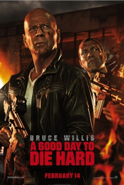 poster  from the 20th Century Fox film A Good Day to Die Hard