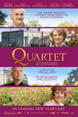 poster from the BBC Films movie Quartet