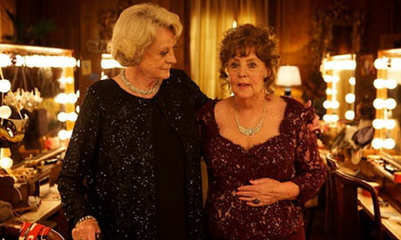 Maggie Smith and Pauline Collins from the BBC Films movie Quartet