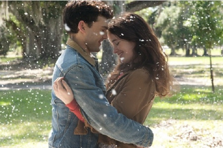 Ethan and Lena hug from the Warner Bros. Pictures film Beautiful Creatures