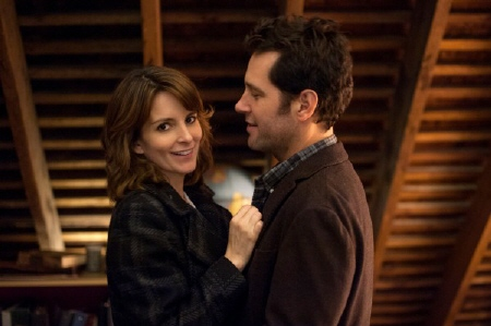 Tina Fey and Paul Rudd in the Focus Features film Admission