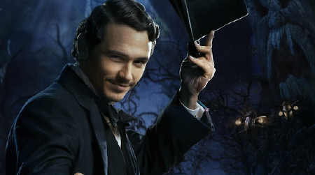 James Franco from the Disney film Oz the Great and Powerful
